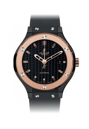 HUBLOT Classic Fusion Ceramic King Gold 33mm