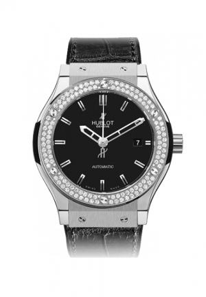 HUBLOT Classic Fusion Titanium Diamonds 38mm