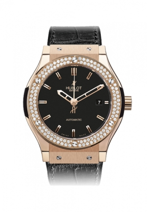 HUBLOT Classic Fusion King Gold Diamonds 38mm