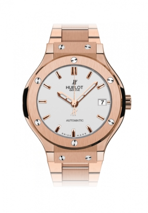 HUBLOT Classic Fusion King Gold Opalin Bracelet 38mm