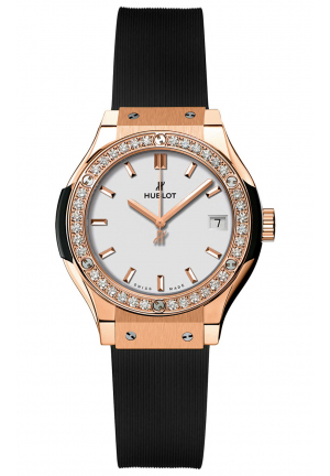 HUBLOT CLASSIC FUSION QUARTZ 33MM LADIES WATCH 581.OX.2611.RX.‎1104