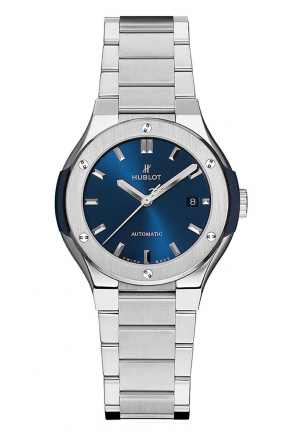HUBLOT CLASSIC FUSION AUTOMATIC 33MM LADIES WATCH 585.NX.7170.NX, 33MM