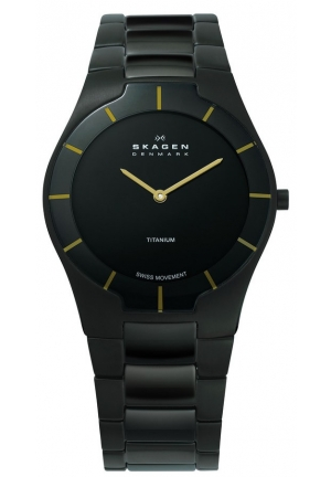 Skagen Black Label Black Dial Men's Watch