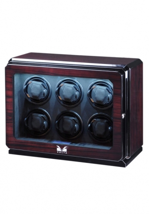 6 WATCH WINDER (ROSEWOOD)
