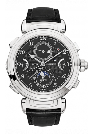 GRANDMASTER CHIME DOUBLE-FACED WHITE GOLD MEN'S WATCH 6300G-001, 47.4MM