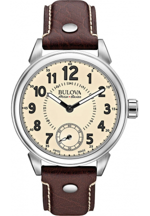 GEMINI COLLECTION AUTOMATIC BROWN LEATHER , 42MM