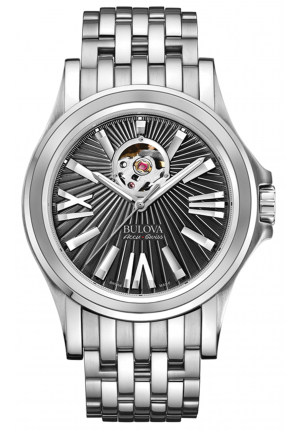 KIRKWOOD COLLECTION BLACK DIAL WATCH , 40 MM