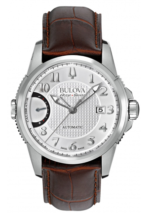 CALIBRATOR COLLECTION AUTOMATIC WHITE DIAL BROWN LEATHER , 42MM