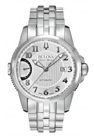 CALIBRATOR COLLECTION AUTOMATIC SILVER DIAL ANALOGUE DISPLAY AND SILVER STAINLESS STEEL BRACELET , 42MM