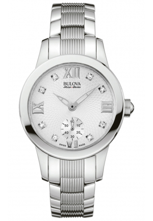 MASELLA COLLECTION QUARTZ ANALOG WHITE DIAL STAINLESS STEEL , 31MM