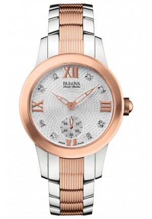 MASELLA COLLECTION SILVER-TONE & ROSE GOLD WATCH WATCH, 31MM