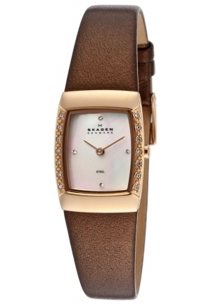 Glitz Mother of Pearl Dial Rose Gold-tone Stainless Steel Ladies Watch