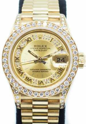 Rolex Datejust Ladies in 18K Yellow Gold