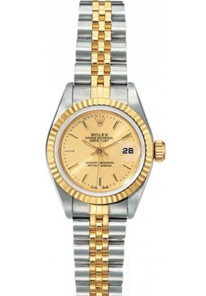 Rolex Datejust Stainless Steel and 18K Yellow Gold Model