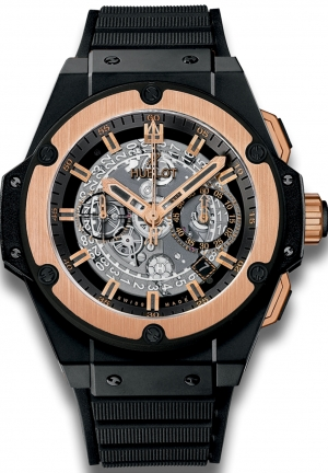 HUBLOT King Power Unico Ceramic King Gold 48mm
