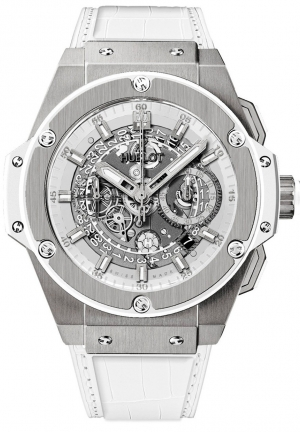HUBLOT King Power Unico Titanium White 48mm