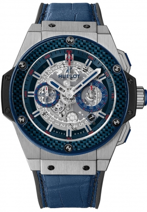 HUBLOT King Power Special One Skeleton Dial Chronograph Automatic Men's Watch 48mm