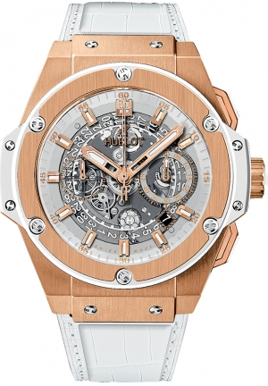 HUBLOT King Power Unico King Gold White 48mm