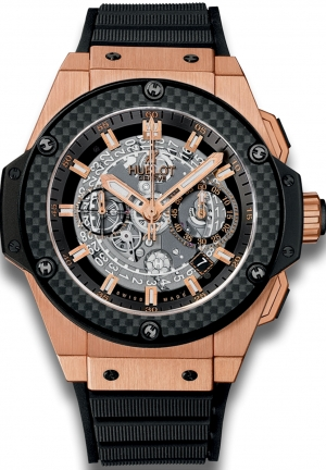 HUBLOT King Power Unico King Gold Carbon 48mm