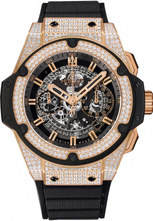 HUBLOT King Power Unico King Gold Pav� 48mm