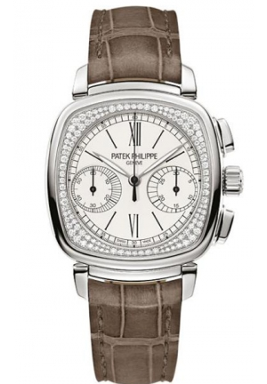 Complications Mechanical Silver Dial Ladies Watch ,35 mm x 39 mm