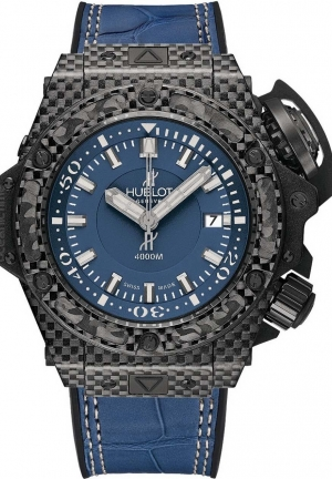 HUBLOT King Power Oceanographic 4000 Carbon Denim 48mm