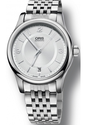 Oris Classic Date Men's Stainless Steel Automatic Watch