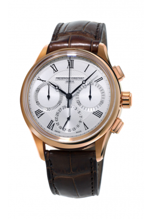 FREDERIQUE CONSTANT FLYBACK CHRONOGRAPH MANUFACTURE 760V4H4, 42MM
