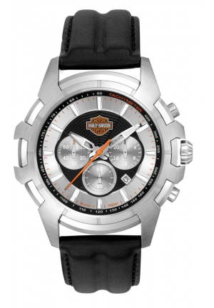 BULOVA Harley-Davidson Men's Bulova Spider Web Wrist Watch 44mm