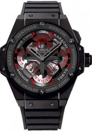 HUBLOT King Power Unico GMT Ceramic 48mm