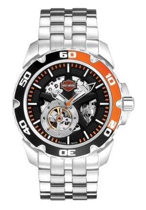 BULOVA Harley-Davidson Men's Bulova Wrist Watch 44mm