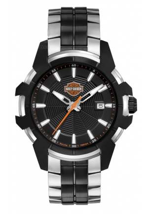 BULOVA Harley-Davidson Men's Bulova Wrist Watch, Spider Collection 42mm