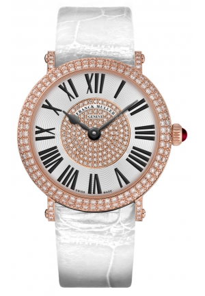 ROUND CLASSIC ELEGANCE LADIES WATCH 8038 QZ D CD 1P WHITE, 40MM