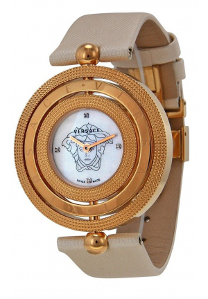 EON MOTHER OF PEARL DIAMOND DIAL SATIN LADIES WATCH