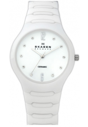 LADIES' CERAMIC WATCH, 817SSXC