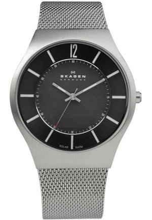Skagen Men's  Denmark Black Dial Watch