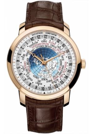 VACHERON CONSTANTIN Vacheron Constantin Patrimony Traditionnelle World Time 86060/000r-9640, 42.5mm