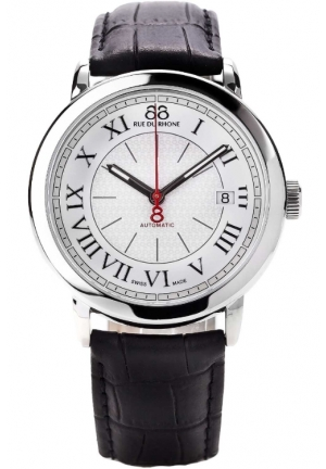 88 Rue du Rhone Double 8 Origin Automatic White Dial Mens Watch 87WA120033