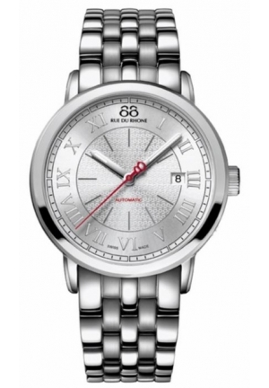 88 Rue du Rhone Double 8 Origin Automatic Silver Dial Steel Mens Watch 87WA120054