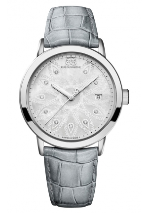 88 RUE DU RHONE Double 8 Origin Ladies Diamond Set Watch 39mm
