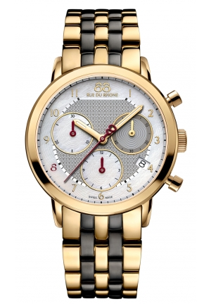 88 RUE DU RHONE Lady - Double 8 Origin Chrono Ceramic 87WA143506 35mm