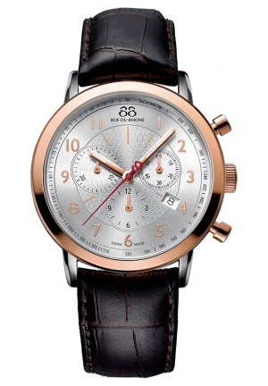 88 RUE DU RHONE Rose-Gold Plated Gents Watch 87WA144213 42mm