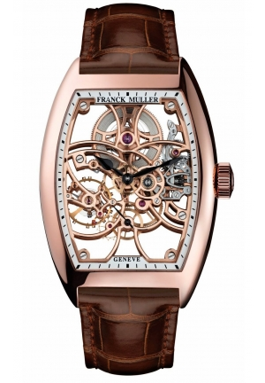 CINTRÉE CURVEX 7 DAYS POWER RESERVE SKELETON 8880 B S6 SQT, 39.60 Х 55.40MM