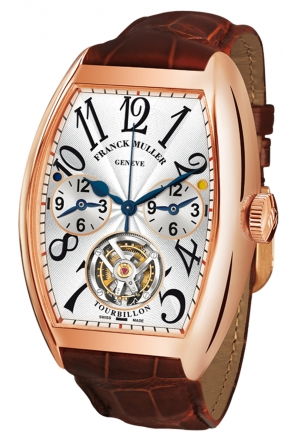 CINTREE CURVEX MASTER BANKER TOURBILLON 8880 T MB, 39.5 X 55.3 MM