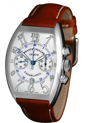 CASABLANCA AUTOMATIC CHRONOGRAPH 8885 C CC DT, 39.6 X 55.4MM