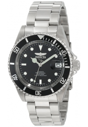 Invicta Men's Pro Diver Stainless Steel Automatic Watch with Link Bracelet
