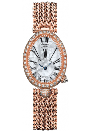 REINE DE NAPLES AUTOMATIC MINI LADIES WATCH 8928BR/51/J2, 24.95 X 33MM