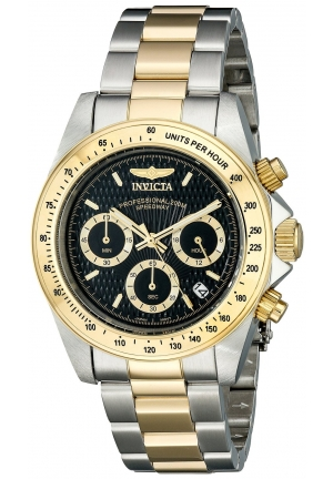 Invicta Men's Speedway Collection S Series Two-Tone Stainless Steel Watch with Link Bracelet