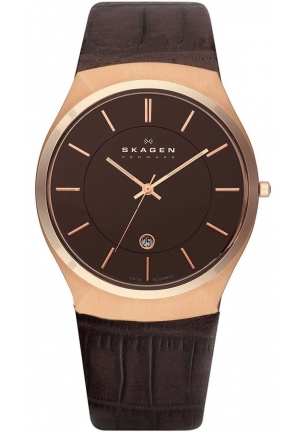 Skagen Mens Classic Wrist Watches