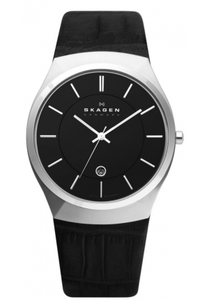 Skagen 925XLSLB Mens Classic Wrist Watches
